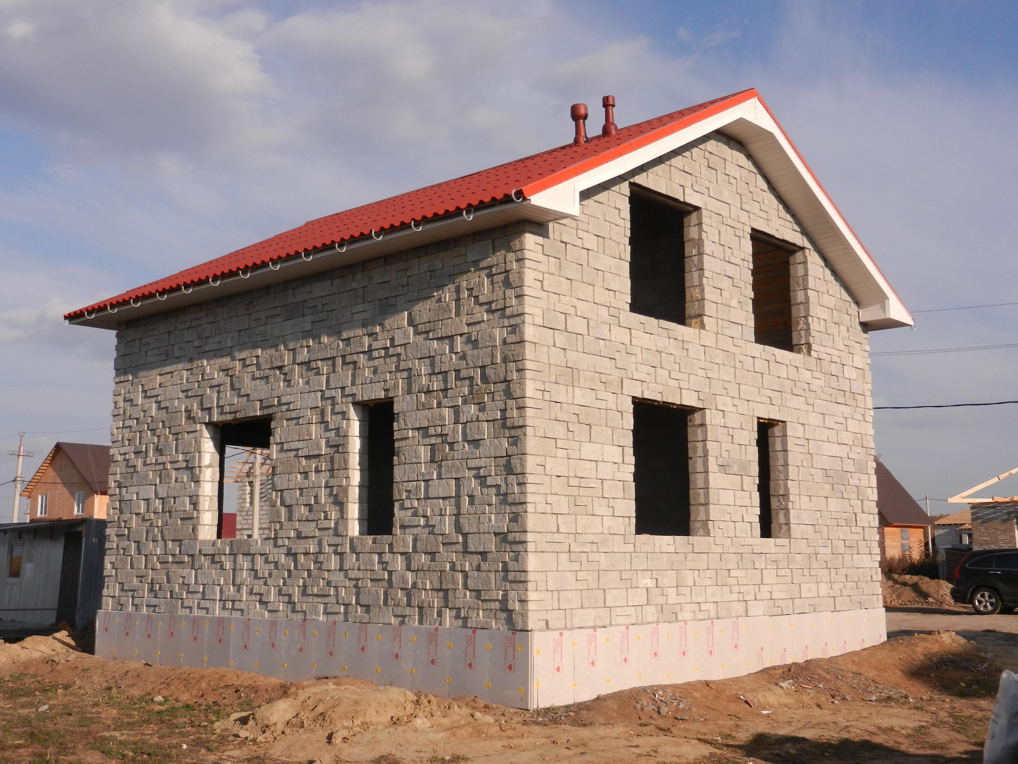 Как построить дом из теплостена своими руками 63